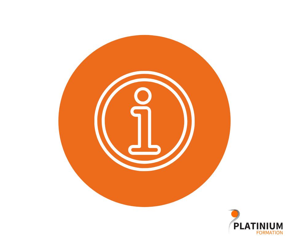 Confinement : Platinium Formation reste ouvert !